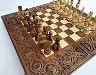 Шахматы нарды деревянные Элегант
