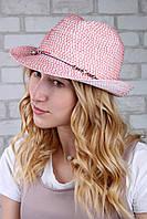 Шляпа челентанка Ява пудровая