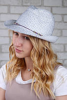Шляпа челентанка Ява синяя