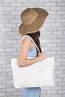 Пляжная сумка Гоа молочная