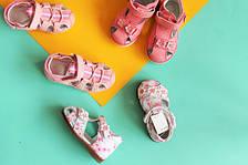 Босоножки и сандалии на девочку размеры 17-26