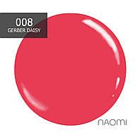 Гель-лак Naomi № 008 (кораллово-розовый), 6 мл