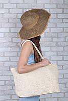 Пляжная сумка Гоа кремовая