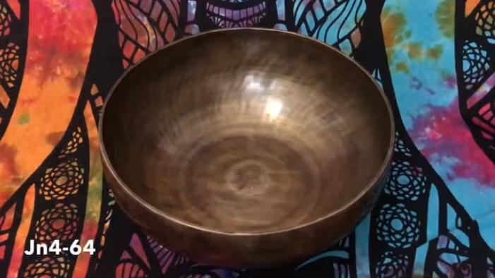 Тибетская поющая чаша Джамбати (Jn4-64)