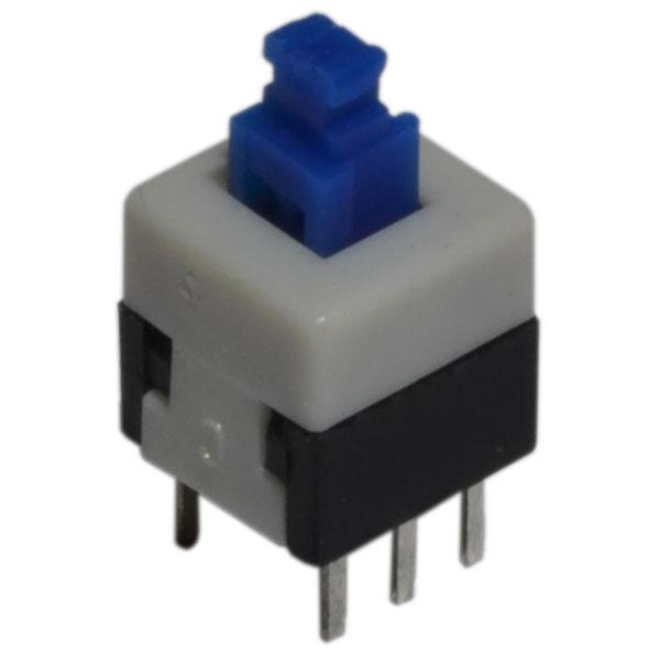 Микрокнопка PSB-800 (304) 6 pin 8х8мм, c фиксацией 1 шт.