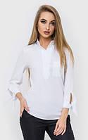 Белая женская блуза с рукавом 7/8 4513171, фото 1