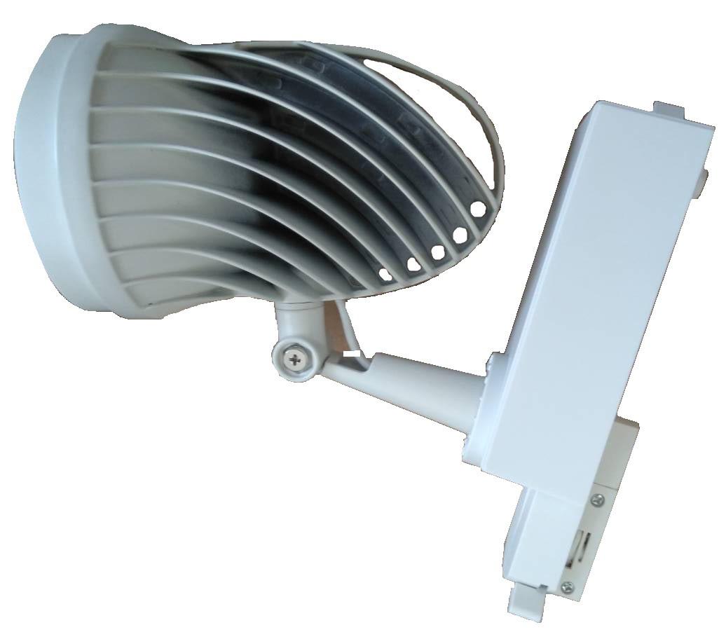 Светодиодный трековый светильник 40Вт нейтральный белый 4200К 2
