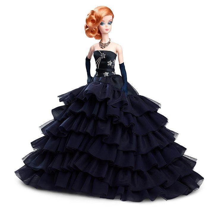 Коллекционная кукла Барби Силкстоун Barbie Midnight Glamour Doll