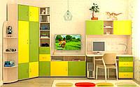 Детская модульная система Dori-Lime (стенка)