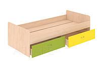 Кровать нижняя с выдвижными ящиками Dori-Lime