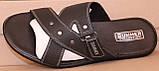 Сабо мужские  черные кожаные от производителя модель в, фото 2