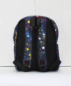 Красивый модный и практичный рюкзак стильным принтом, фото 3