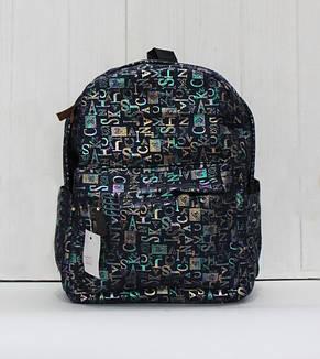 Красивый модный и практичный рюкзак стильным принтом, фото 2