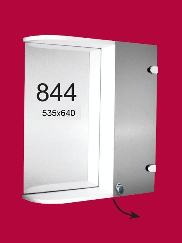 Шкаф-зеркало 535*640 ШК844