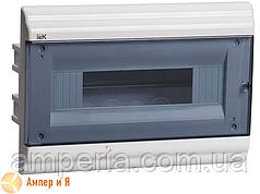 Корпус пластиковый IEK ЩРВ-П-12 мод. 1Pяд встраив. 306x210x100 IP41 PRIME (MKP82-V-12-41-10)