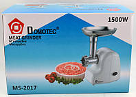 Мясорубка Domotec MS-2017 1500Вт, Гарантия