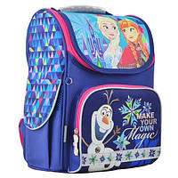 Школьный Рюкзак (портфель) каркасный H-11 Frozen blue 555158