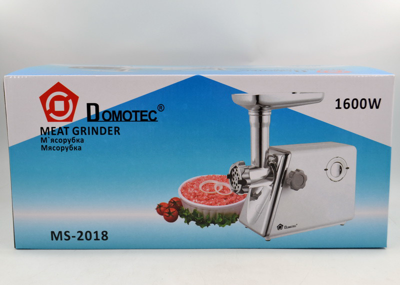 Мясорубка Domotec MS-2018