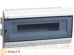 Корпус пластиковый IEK ЩРВ-П-18 мод. 1Pяд встраив. 210x414x102 IP41 PRIME (MKP82-V-18-41-10)