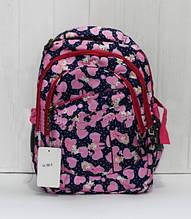 Рюкзак школьный для девочки с модным рисунком
