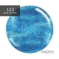 Гель-лак Naomi № 123 (светло-голубой с сияющим блеском), 6 мл