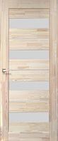 Дверь деревянная (сосна) SD-03. Со стеклом сатин. KORFAD (КОРФАД)