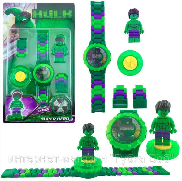 """Детские наручные часы Лего """"Халк"""""""