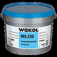 Клей Wakol MS 230 18кг для паркету, еластичний