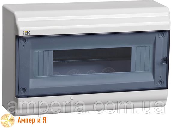 Корпус пластиковый IEK ЩРН-П-12 мод. 1Pяд навесной 290x190x100 IP41 PRIME (MKP82-N-12-41-10), фото 2