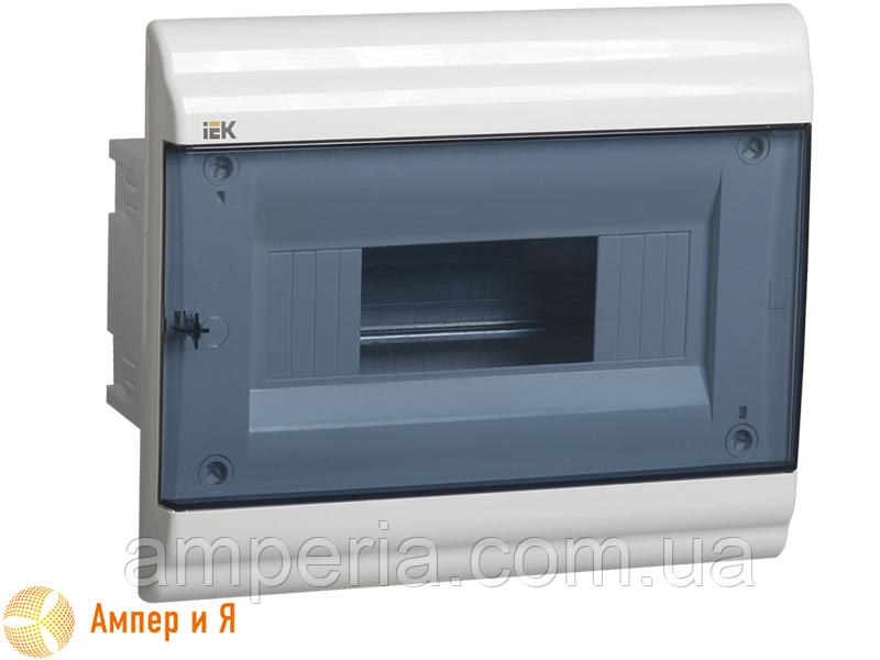 Корпус пластиковый IEK ЩРВ-П-9 мод. 1Pяд встраив. 252x210x100 IP41 PRIME (MKP82-V-09-41-20)