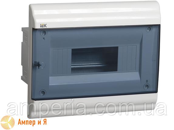 Корпус пластиковый IEK ЩРВ-П-9 мод. 1Pяд встраив. 252x210x100 IP41 PRIME (MKP82-V-09-41-20), фото 2