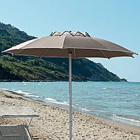 Пляжный Складной Зонт для Отдыха на Природе Уличный Зонтик 1,8*1,65 см без Наклона