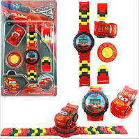 """Детские наручные часы Лего """"Молния Маквин""""/ Тачки"""