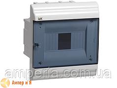 Корпус пластиковый IEK ЩРВ-П-6 мод. 1Pяд встраив. 198x210x102 IP41 PRIME (MKP82-V-06-41-20)