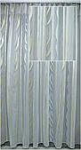 Гардина на окна белая с цветным рисунком( обработка сторон + 40 грн.)