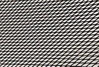 Решетка радиатора 100х20см №3