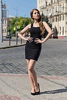 Джинсовое короткое летнее платье на бретельках 20031809 460, фото 1