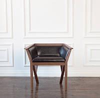 Кресло для гостиной из натурального дерева