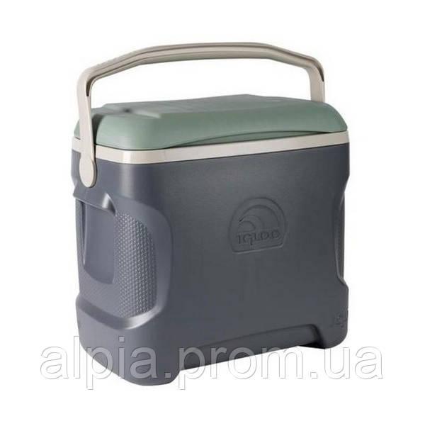 Термоконтейнер Igloo Sportsman 30, 28 л, серо-зеленый