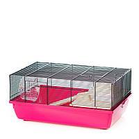 Клетка для мышей с деревянными аксессуарами Pixie mouse color + wood ™️ InterZoo G141 (580*380*260 мм)