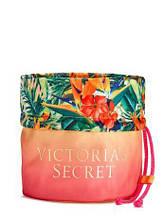 Оригінал - Сумочка для косметики Victoria's Secret Neon Paradise Drawstring Beauty Bag (Вікторія Сікрет) KS7