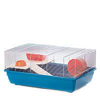 Клетка для мышей PIXIE MOUSE ZINC+ WOOD ™️ InterZoo G142 (580*380*260 мм)