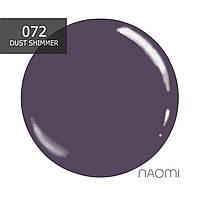 Гель-лак Naomi № 072 (светлый молочно-синий), 6 мл