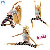 Барби Блондинка Безграничные движения Barbie Made To Move