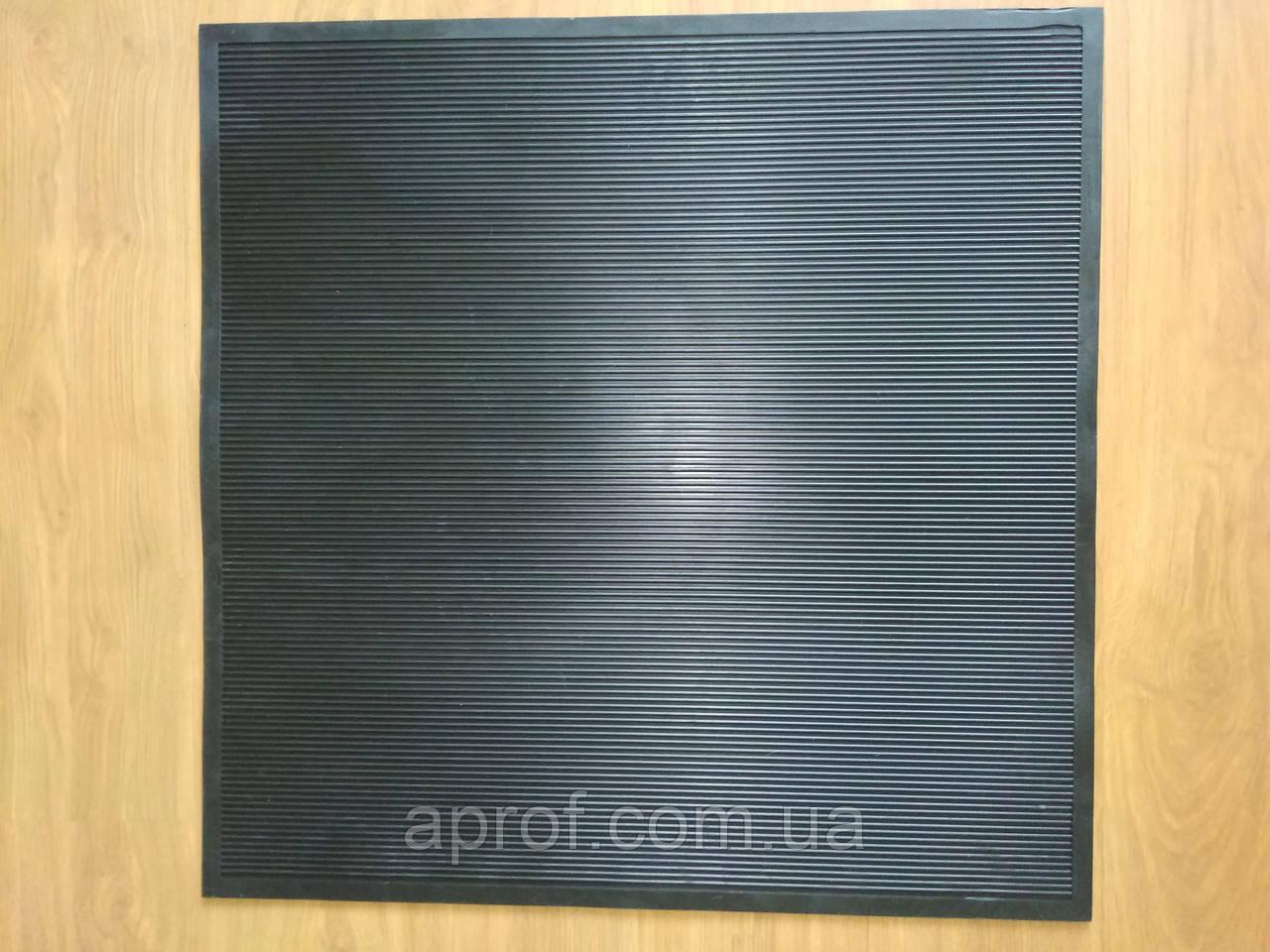 Коврик резиновый грязезащитный (750х750 мм)