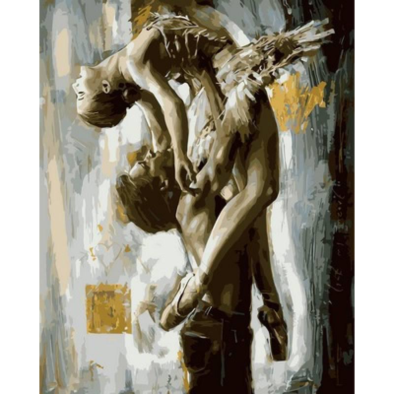 Картина по номерам Балет, 40x50 см., Babylon