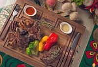 Деревянное блюдо-поднос для мяса