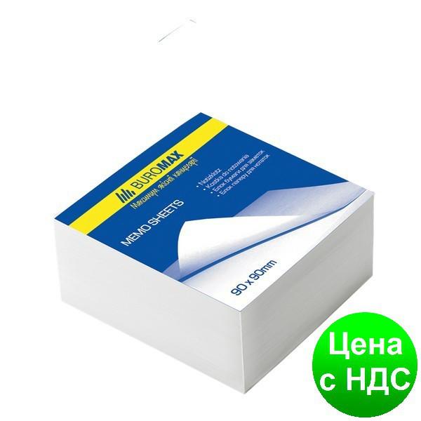 Блок белой бумаги для заметок JOBMAX 90х90х30мм., скл. BM.2208
