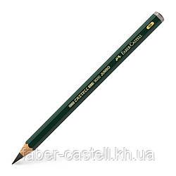 Утолщенный чернографитный карандаш Faber-Castell CASTELL 9000 Jumbo 6B, 119306