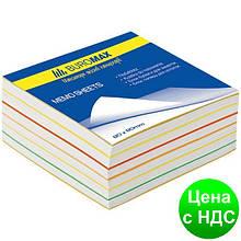 """Блок бумаги для заметок """"Радуга"""" 80х80х30мм, скл. BM.2232"""